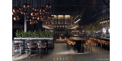 Гастропроект Terminal Foodhall. Vnukovo откроется в Новой Москве